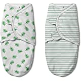 SwaddleMe Original Luxe Edition 2-pk, Tropical, Small (0-3 Months, 7-14 lbs)