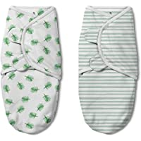 SwaddleMe Original Swaddle Luxe Edition 2-PK - Tropical (Large)
