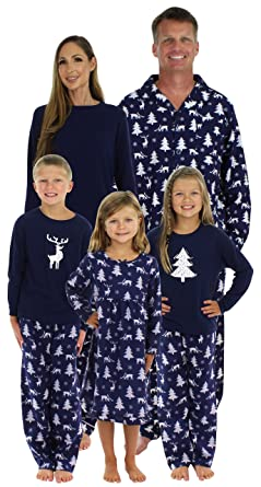 SleepytimePjs Family Matching Winter Deer Pajamas PJs Sets for The Family 85a6c7307