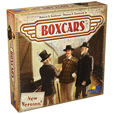 Boxcars Board Game: Toys & Games