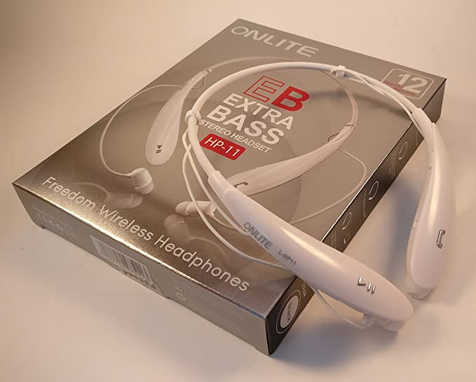 583eed9ab89 Image Unavailable. Image not available for. Colour: ONLITE L-HP11 Wireless  Bluetooth Headset ...