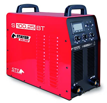Stayer Welding - S 100.25 Bt Inverter Mma Soldadura Por Electrodo 100% 250A 6Mm 20Kg