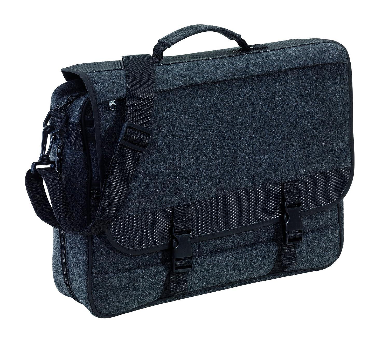 Umhä ngetasche Aktentasche Filz Studententasche Reiß verschluss Dehnfalte Filztasche 42 x 35 x 10 cm 22322