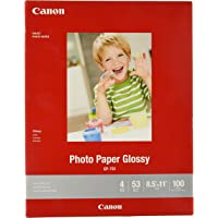 "CanonInk Glossy Photo Paper 8.5"" x 11"" 100 Sheets (1433C004)"