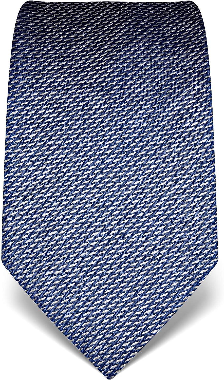 idrorepellente e antisporco di pura seta di alta qualit/à Vincenzo Boretti cravatta elegante classica da uomo a disegni 8 cm x 15 cm