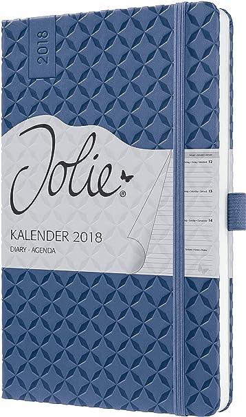 sigel-j8101-wochenkalender-jolie-2018-ca-a5-dunkelblau-viele-modelle