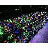 Joomer 12ft x 5ft Christmas Decoration Lights,360 LED Net Lights 8 Modes Bush Mesh Lights Connectable for Christmas Trees, Bu