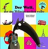 le loup qui voulait faire le tour du monde en allemand (coll. mes ptits albums)