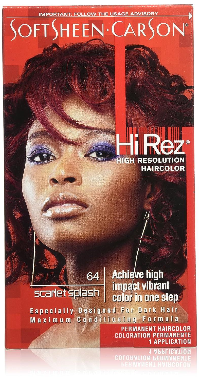 Amazon Softsheen Carson Hi Rez High Resolution Haircolor