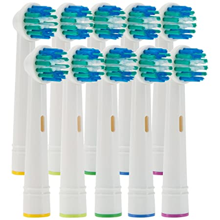 Ultratec 10 x Ersatzbürstenköpfe, Aufsteckbürsten passend für Oral B Zahnbürsten