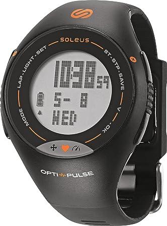 Soleus Pulse - Reloj con Monitor de Actividad física y Salud con Monitor de Ritmo cardíaco