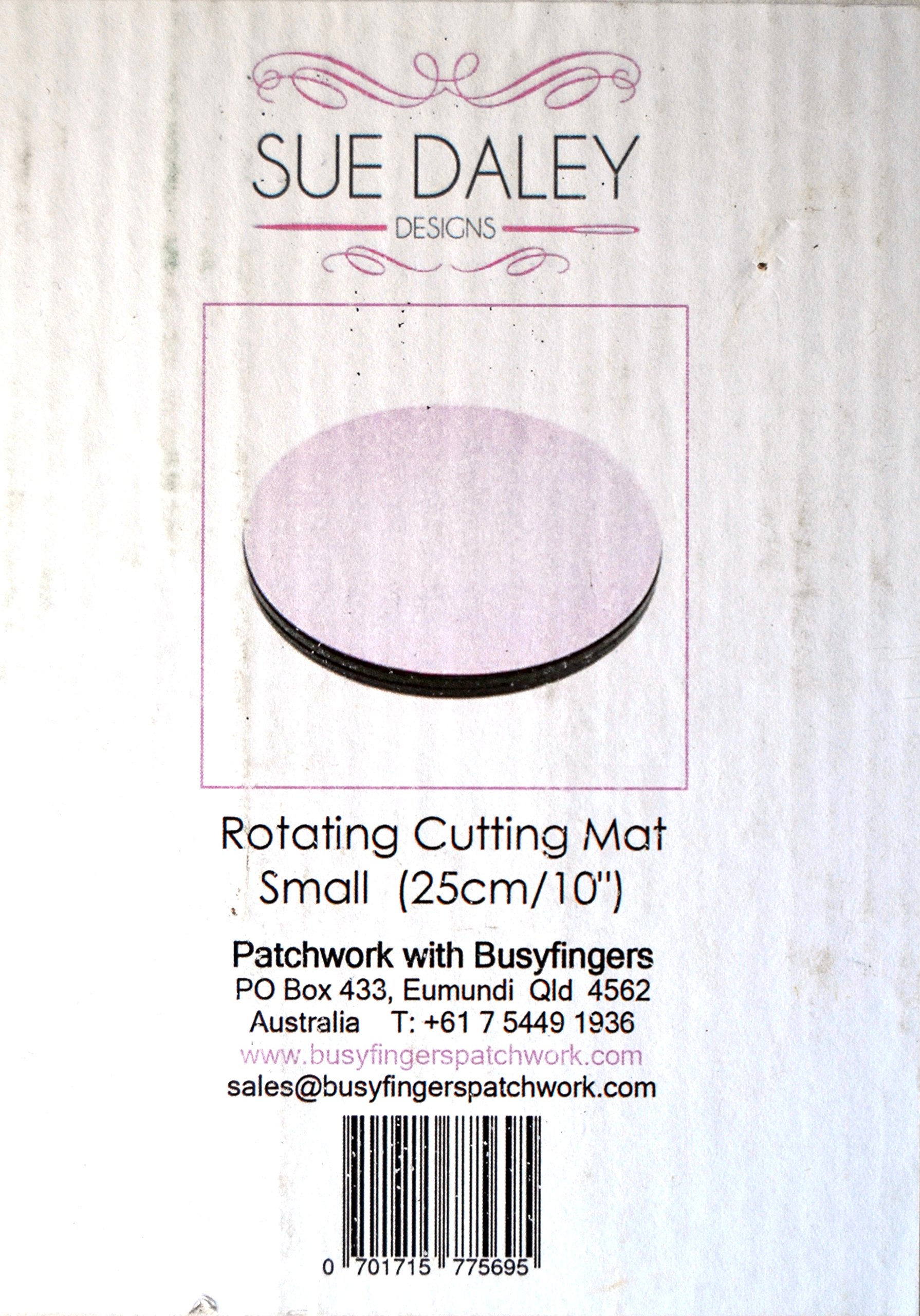 Small Rotating Cutting Mat 10 inch Diameter by Sue Daley Designs by Sue Daley Designs