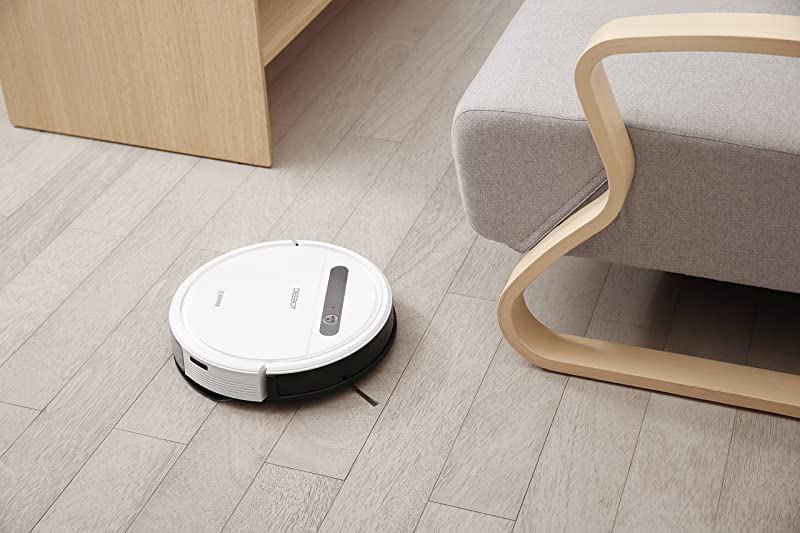 91pLhpfqy6L. SL800  Ecovacs Robotics Deebot Ozmo 610, aspirapolvere e pulitore robot con panno che si bagna