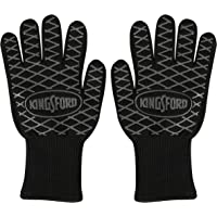 Kingsford BB12383 2 Count BBQ Grill Gloves, Black