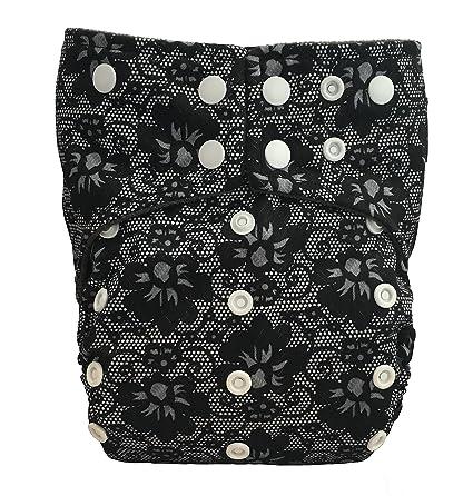 Kernow Kloth – Pañal de tela de poliuretano laminado y carbón de bambú con acabado suave