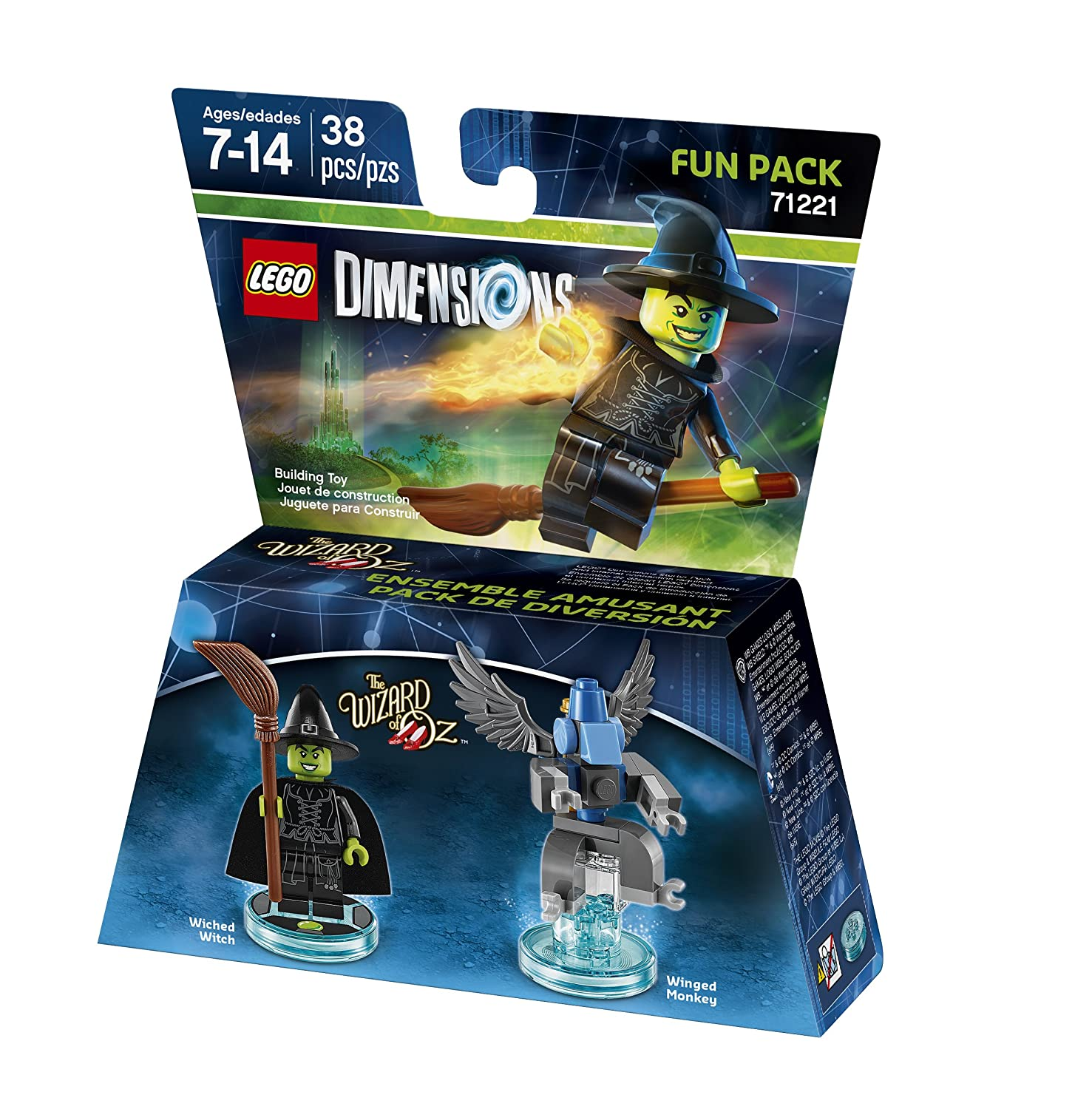 Amazon.com: Wicked Witch - the Wizard of Oz - Fun Pack - Lego Dimensions:  Video Games