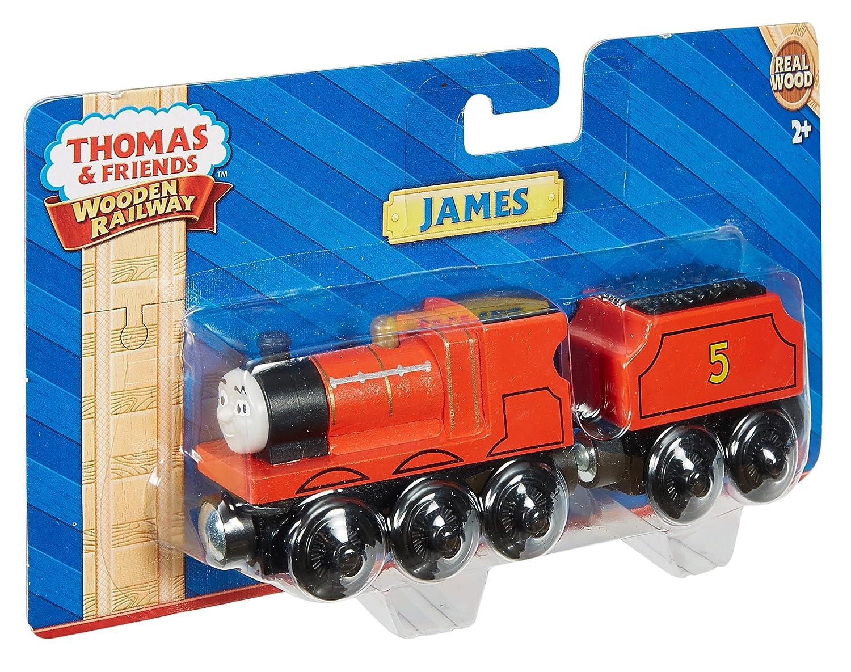 Amazon Fisher Price Thomas Friends Wooden Railway James Engine Toys Games