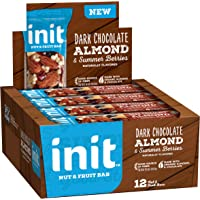 Init Nut & Fruit Bar Dark Chocolate Almond & Summer Berries 12-Count