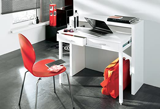 Home Innovation - Mesa escritorio extensible con consola, en color ...