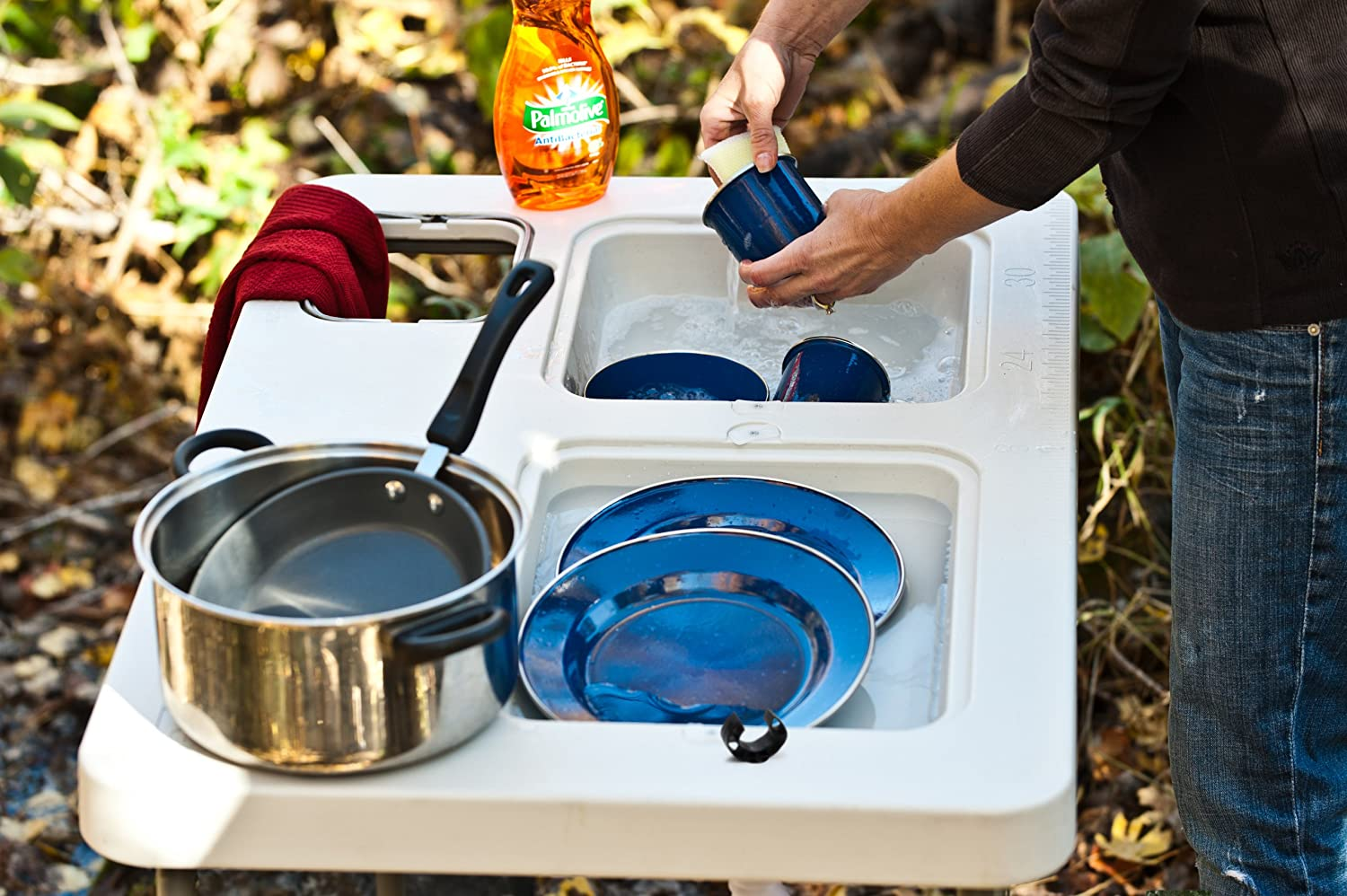 amazon com coldcreek outfitters ultimate outdoor work station