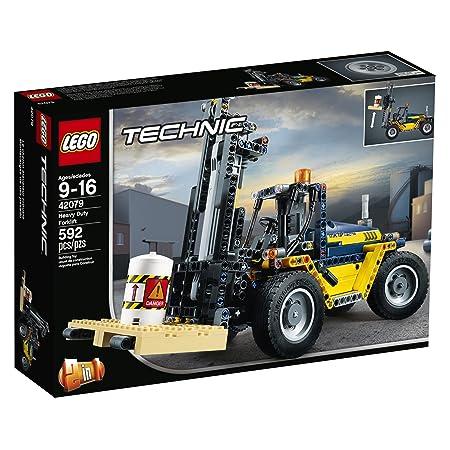 Amazon Lego Technic Heavy Duty Forklift 42079 Building Kit 592
