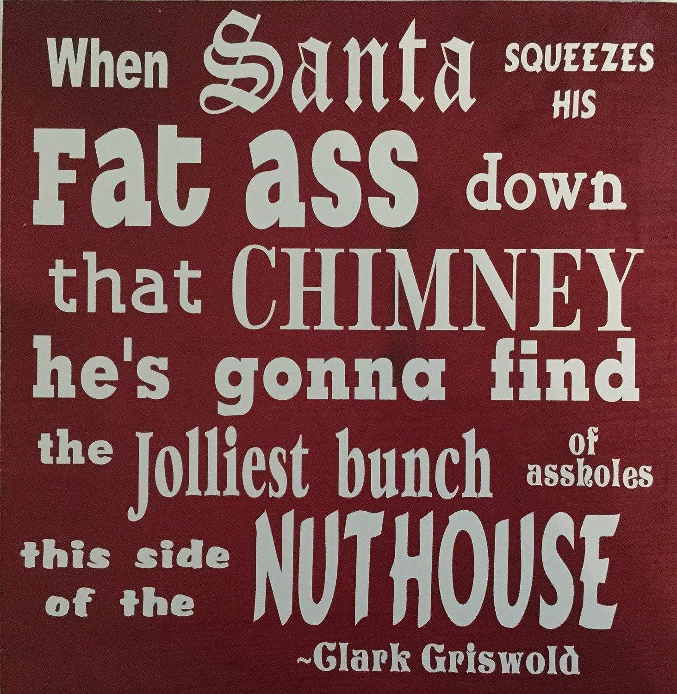 Amazon.com: Fat Ass Santa: Handmade