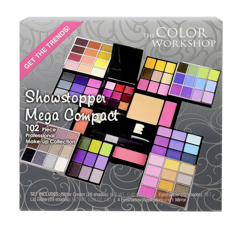 Amazon.com: Markwins Estuche de maquillaje Showstopper Mega Compact ...
