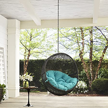 Amazon.com: modway Ocultar silla de patio al aire última ...