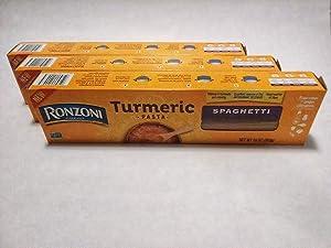 Ronzoni tumeric pasta,spaghetti 10 ounce