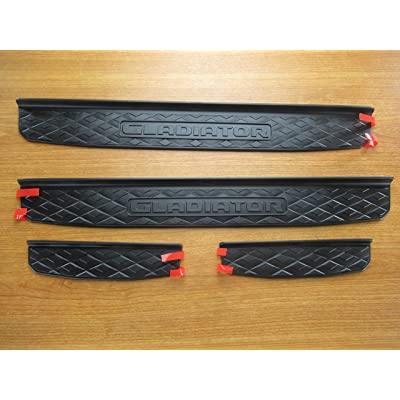 Mopar Jeep Gladiator Door Sill Guards OEM: Automotive