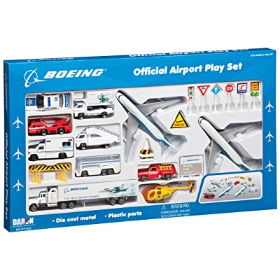 Daron Boeing Aircraft Playset 24-Piece: Toys & Games