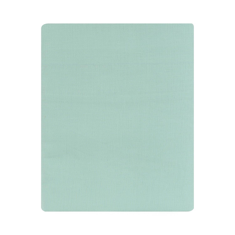 Drap Plat Cottage Lin Blanc 240 x 300 cm Essix