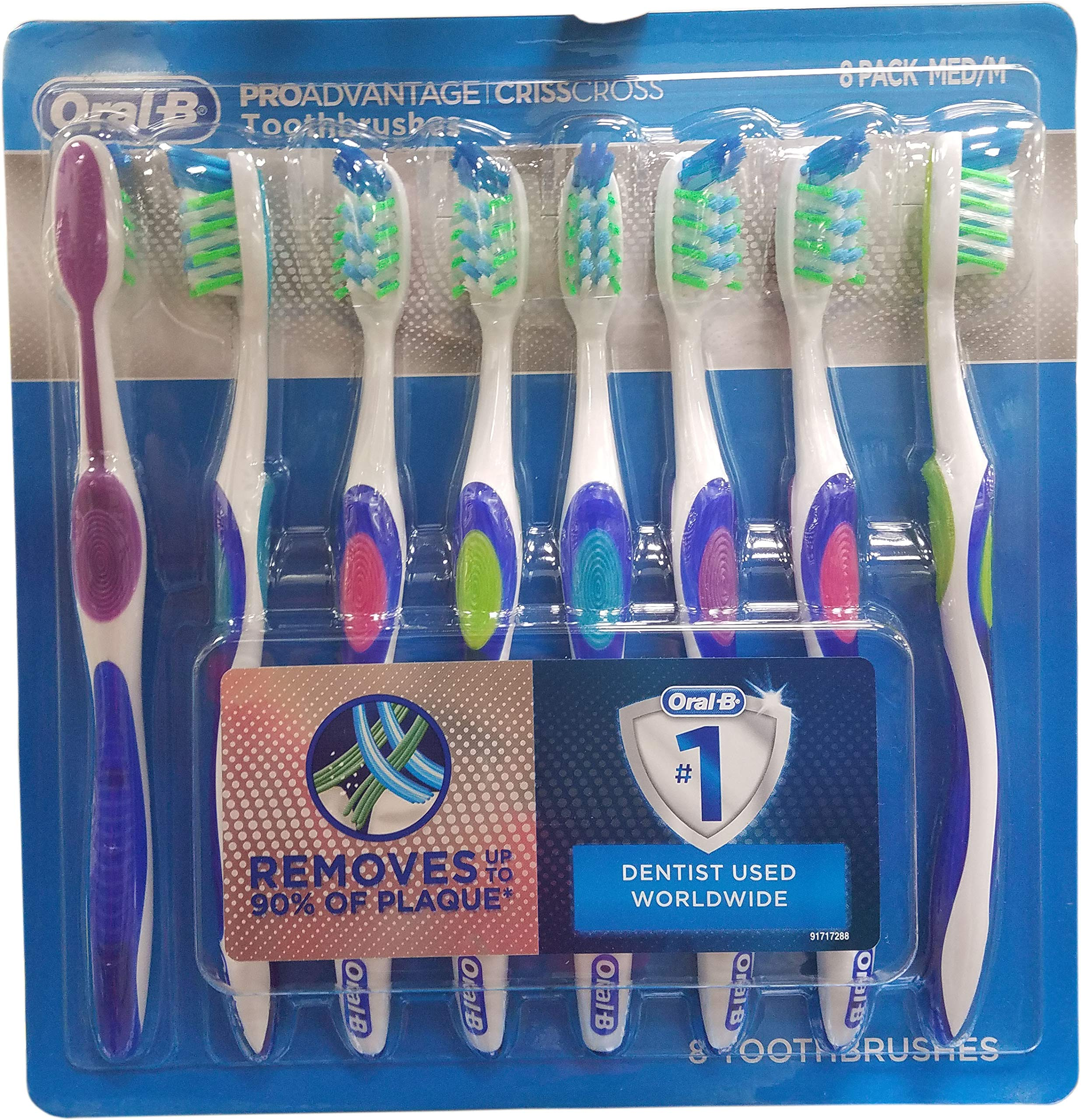 Oral B Proavantage Tooth Brush (8 Count), 8 Count