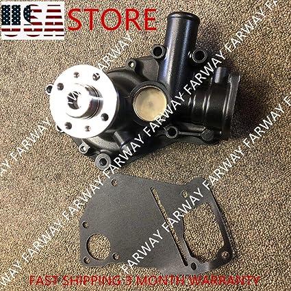 New Water Pump 8972541481 for ISUZU 4LE1 Doosan SOLAR 030 PLUS SOLAR 035