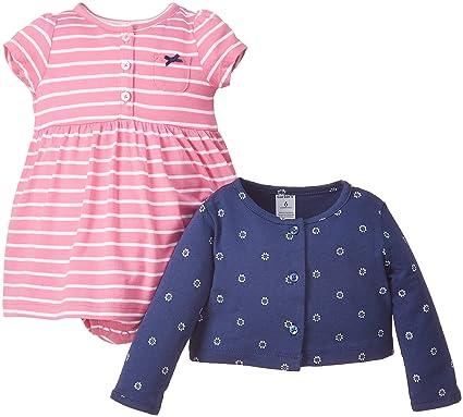 1cd2f5f715b0 Amazon.com  Carter s Baby Girls  Dress Sets 126g285  Clothing