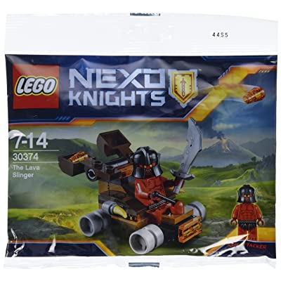 LEGO Nexo Knights: The Lava Slinger 30374: Toys & Games