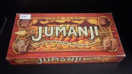 Amazoncom Jumanji The Game By Unknown Toys Games