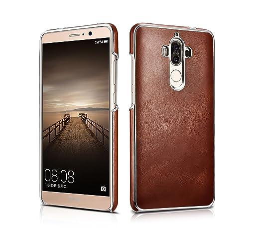 4 opinioni per Huawei Mate 9 Case, DEMEDO (Platinum Series) [100% pelle bovina] placcatura