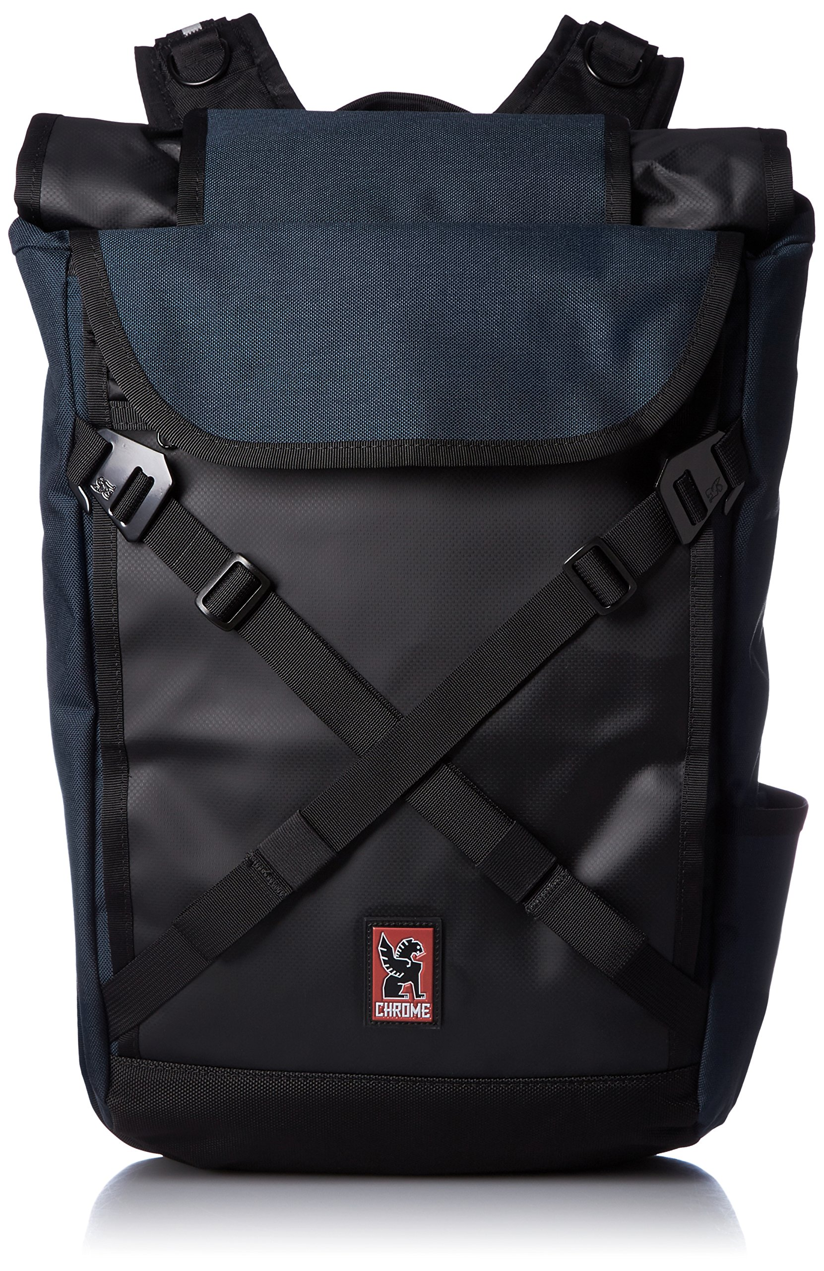 Chrome BG-190-IN Indigo/Black One Size Bravo 2.0 Backpack by Chrome