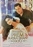 "PREM RATAN DHAN PAYO ""Bollywood DVD"" (Hindi with English Subtitles) - Salman Khan, Sonam Kapoor - 2015"