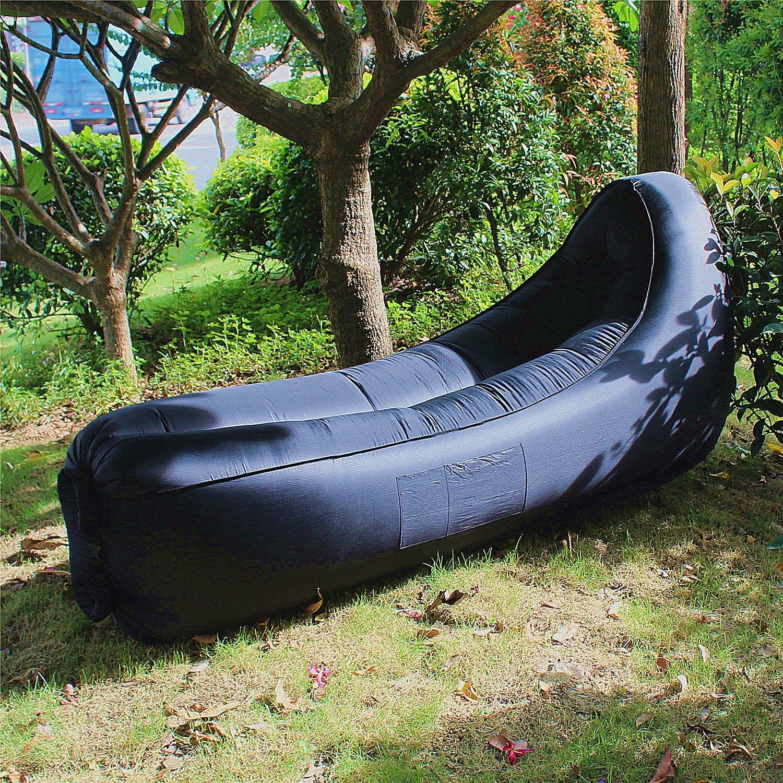 Amazon.com: Hybag - Tumbona hinchable para exteriores y ...