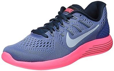 the latest 14822 c2253 Nike Lunarglide 8, Chaussures de Running Femme, Bleu Moon/lt Blue-Racer