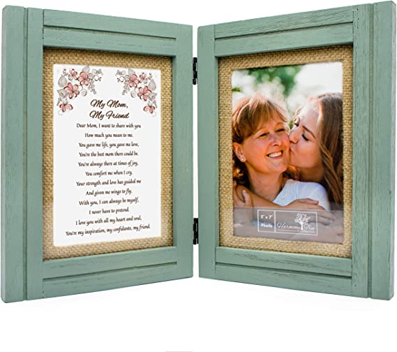 Gift for Mom - My Mom, My Friend - 5x7 Picture Frame