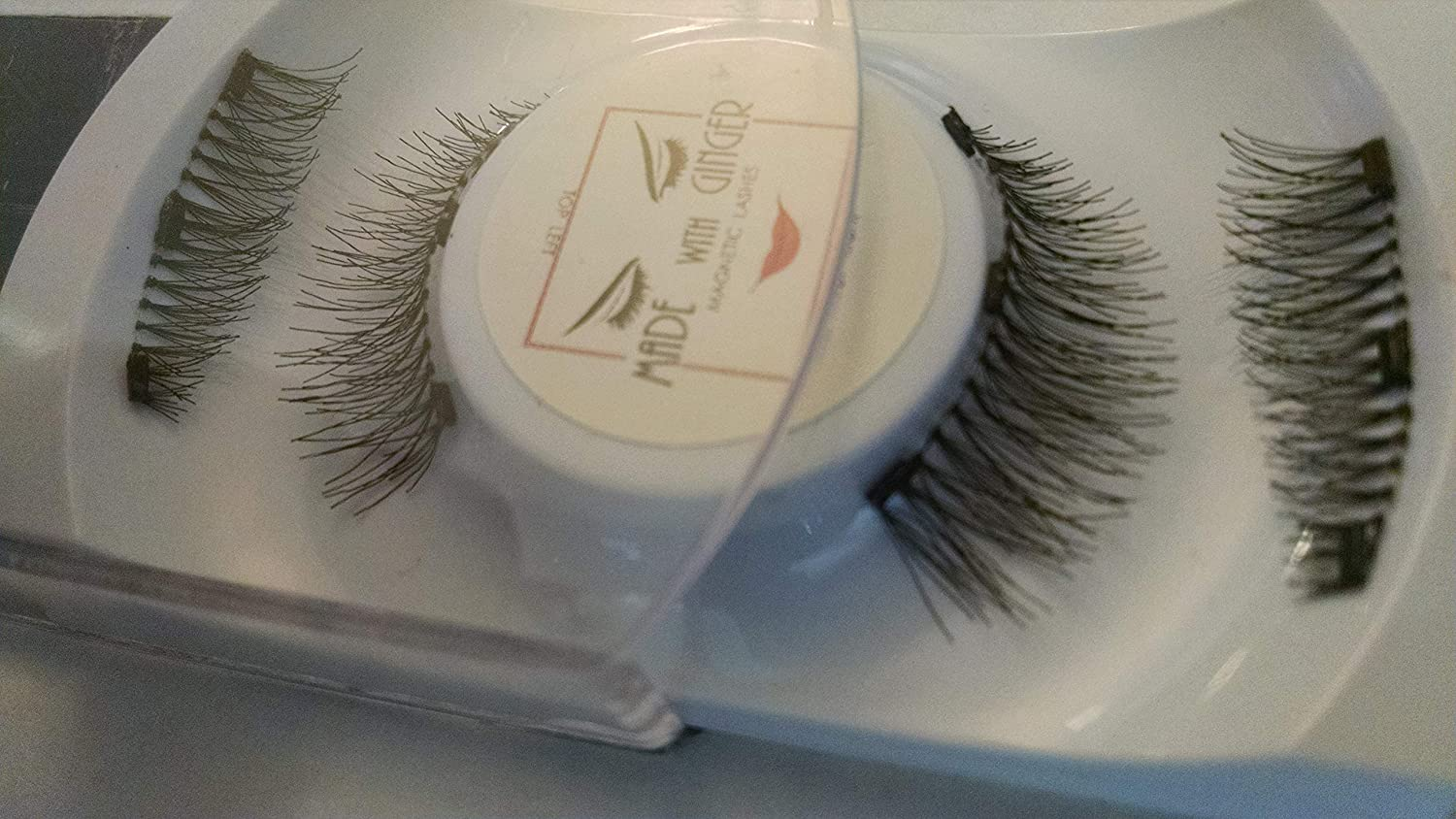 35434a67070 Amazon.com: Magnetic Lashes - FULL Lash Width - 3 Magnets - Curves with eye  shape: Beauty