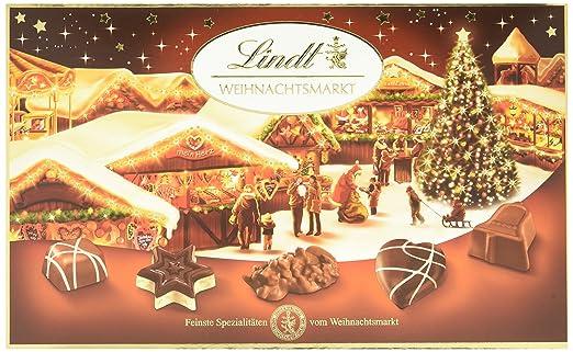 Lindt Weihnachtsmarkt Pralinés, 130g: Amazon.de: Lebensmittel & Getränke