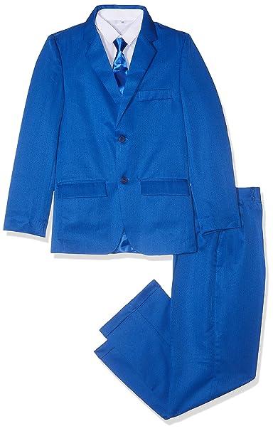 Gorgeous Collection - Traje de Boda para niños, Color Azul Real, para Bailes, cruceros y Fiestas de 6 Meses a 16 años
