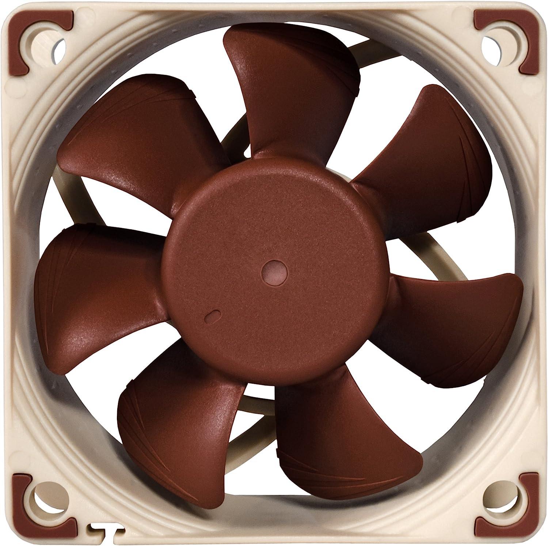 Noctua NF-A6x25 FLX 60mm, Brown 3-Pin Premium Cooling Fan