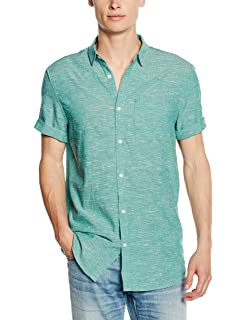 Clearance Wide Range Of Buy Cheap Cheap Mens Textured Casual Shirt New Look With Mastercard Online nYrwfoMa