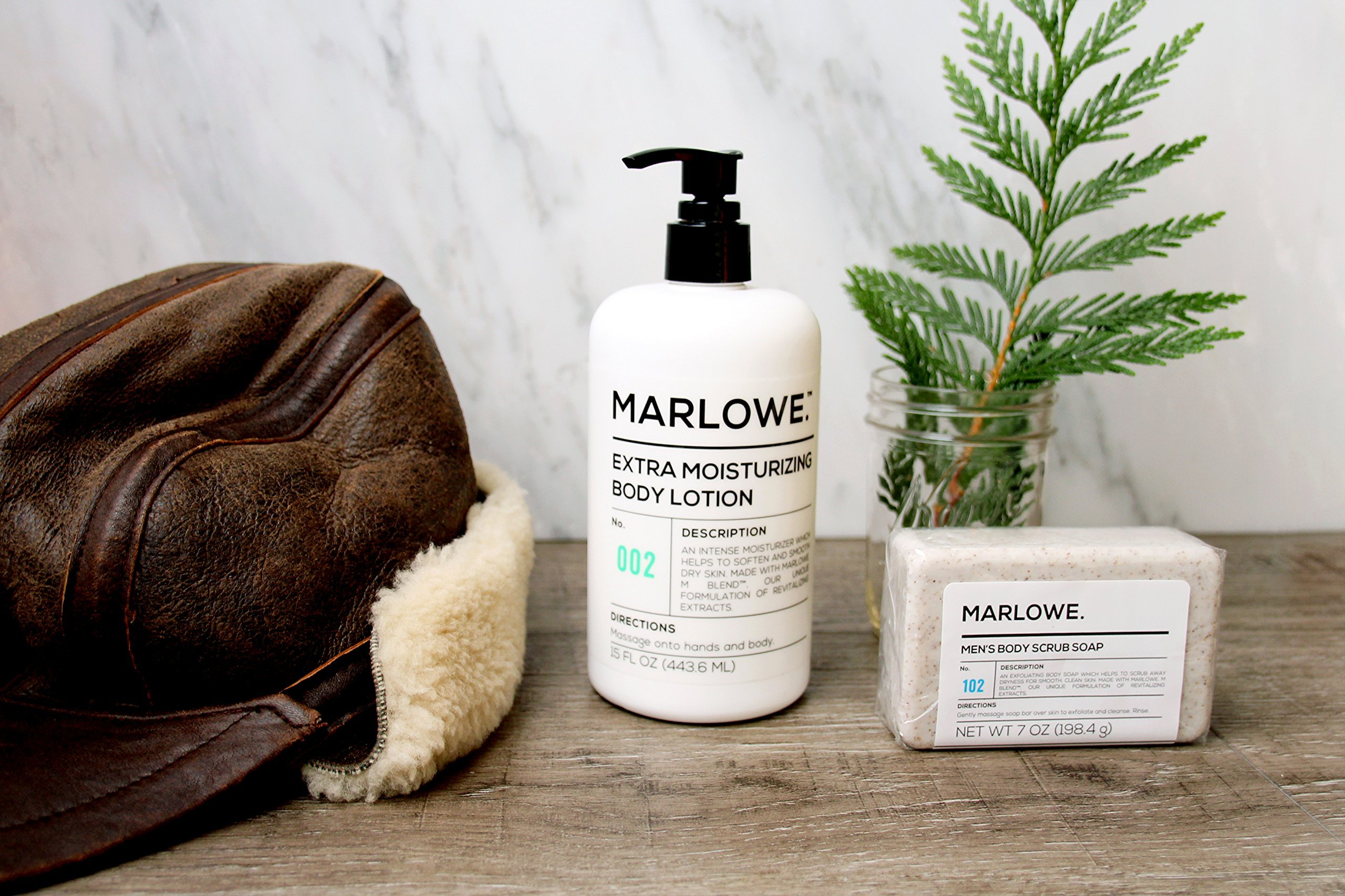 MARLOWE. 002 Extra Moisturizing Body Lotion 15 oz | Daily Lotion for Dry Skin for Men and Women | Light Fresh Scent | Made with Natural Ingredients | Vegan & Cruelty-Free by Marlowe (Image #6)