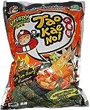 Taokaenoi Crispy Seaweed Tom Yum Spicy Flavor (3 Packs)